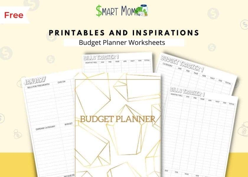 free printable budget template by printables and inspirations